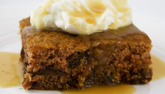 Low Calorie Sticky Date Pudding